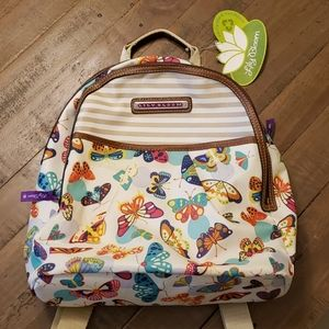Lily Bloom Butterfly 🦋 🎒 backpack, NEW!